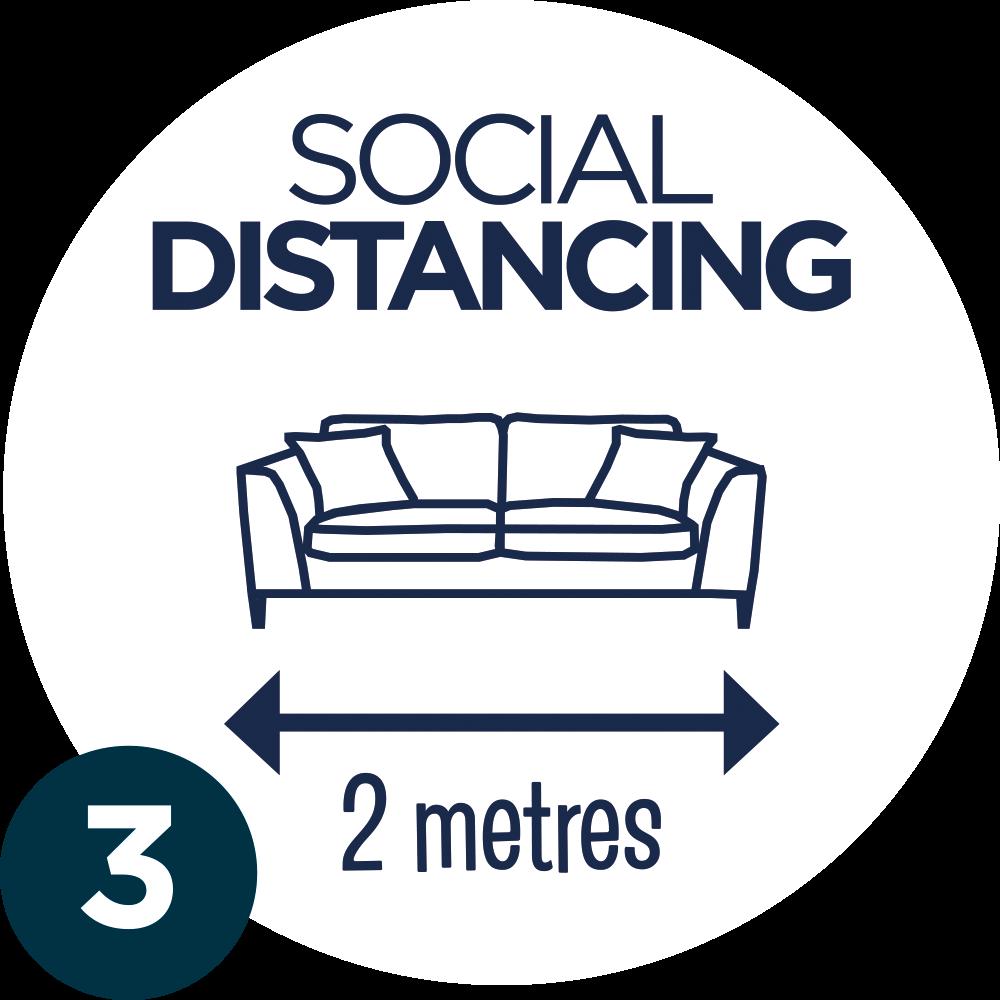 3. SOCIAL DISTANCING