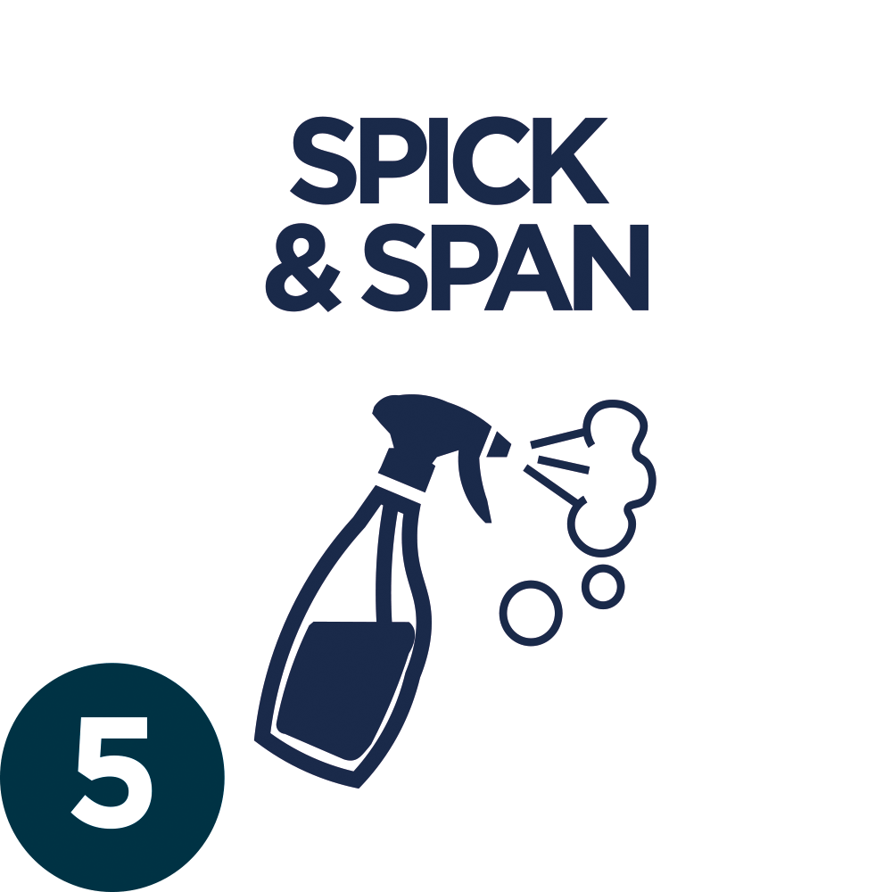 5. SPICK & SPAN