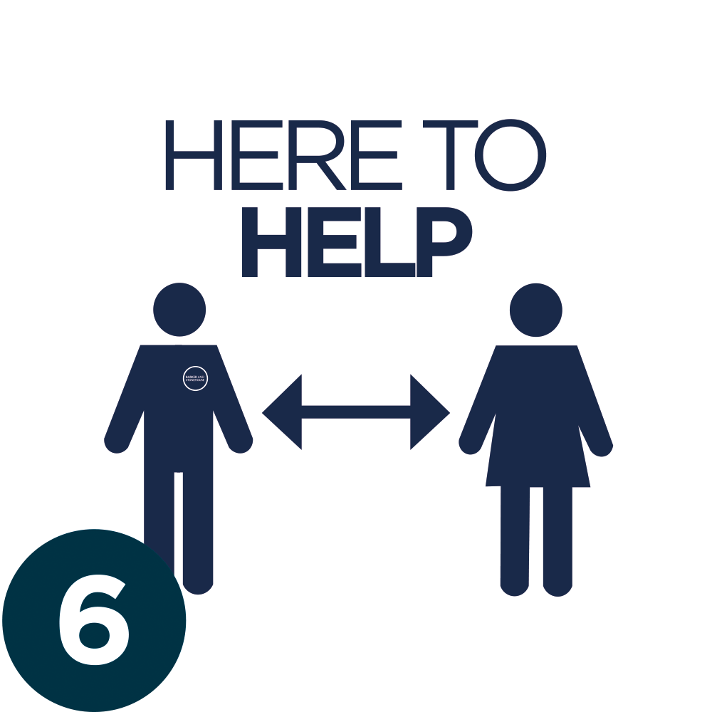 6. HERE TO HELP